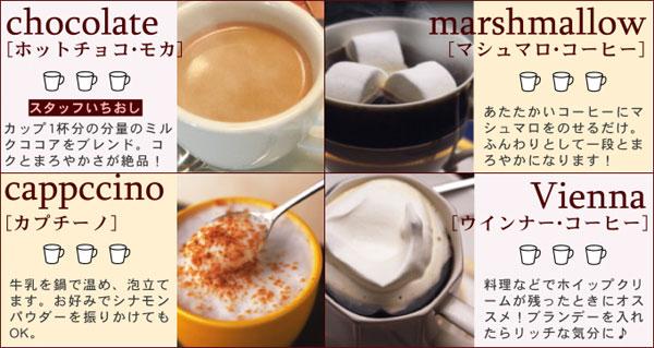 スリムダイエットコーヒーをアレンジ